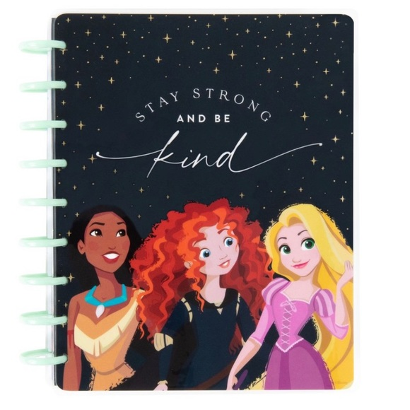Happy Planner Disney Rapunzel Merida JOURNAL ONLY